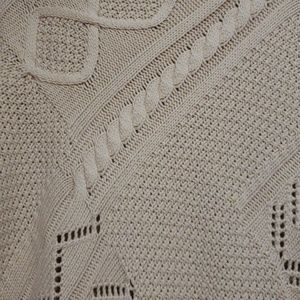 Bass Sweaters - Bass Cable Sweater Poncho
